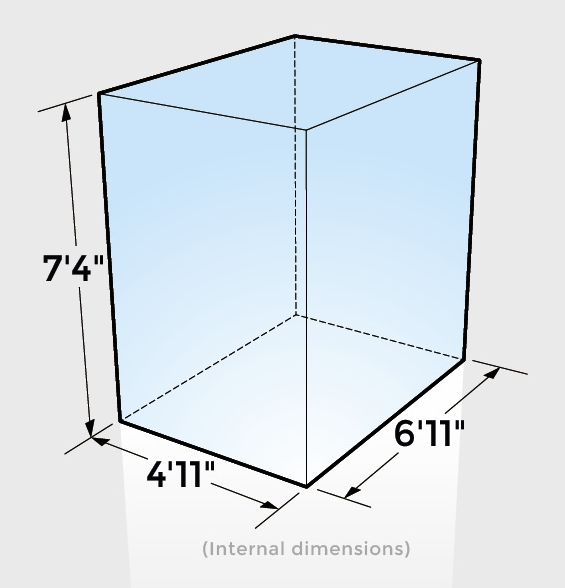 Self Storage Box Dimensions